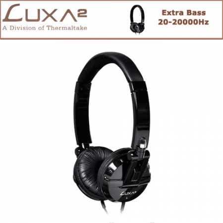 LUXA2 F1 Kulaklık - Siyah