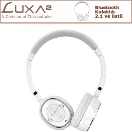 LUXA2 Bluetooth Kulaklık - Beyaz