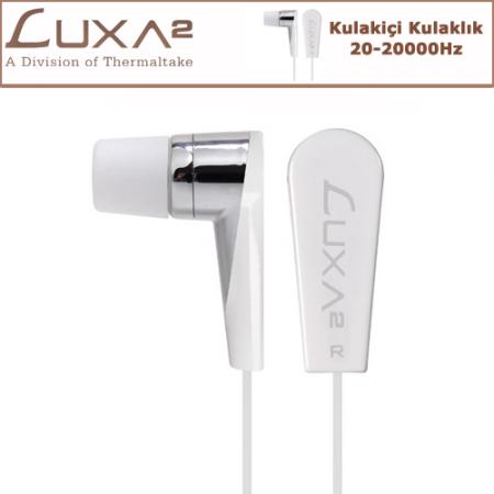 LUXA2 F2 Kulak İçi Kulaklık - Beyaz