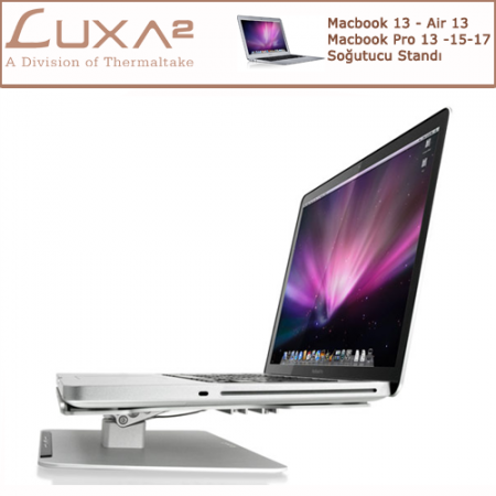 LUXA2 L1 Fansız Mac Book Pro Soğutucu Standı