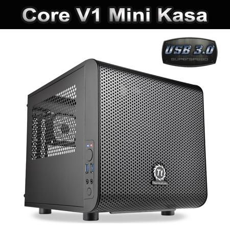 Thermaltake Core V1/Black/Win/SECC Mini Kasa