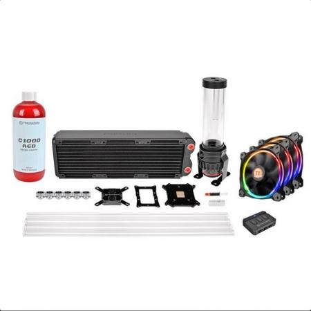 Thermaltake Pacific RL360mm D5 Hard Tube RGB Led Riing Fanlı Custom Sıvı Soğutma Kiti