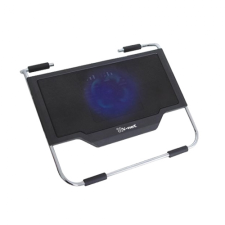 V-NET VNC-191U NOTEBOOK SOĞUTUCUSU 12cm Blue LED fan, 2xUSB Port
