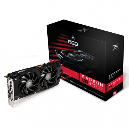 XFX RX 470 RS BlackEdition OC 4GB DDR5 256bit DX12 AMD Radeon Ekran Kartı