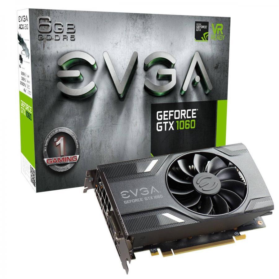 EVGA GTX 1060 6GB GDDR5 192 bit ACX 2.0 Nvidia Ekran Kartı